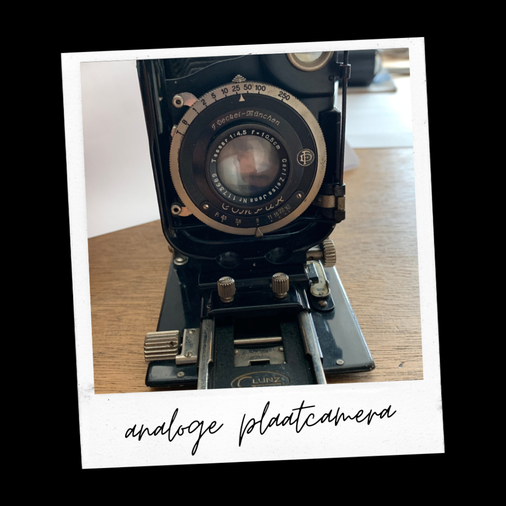 Analoge camera ca. jaren 50