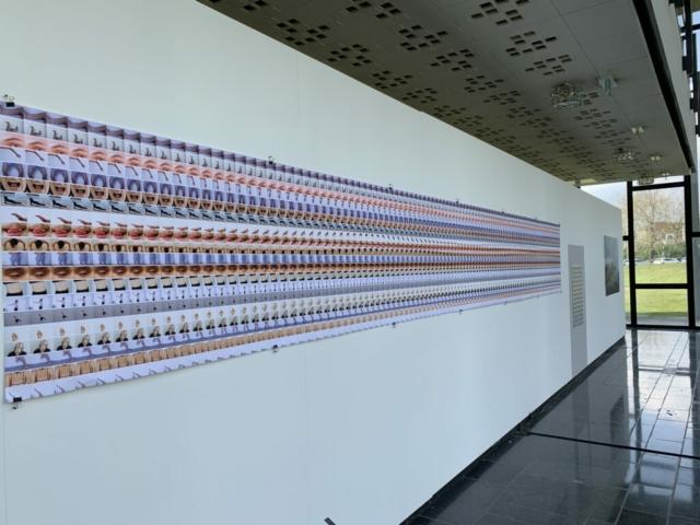 6 meter, 20 stroken, 2040 beeld van Emma Lammens