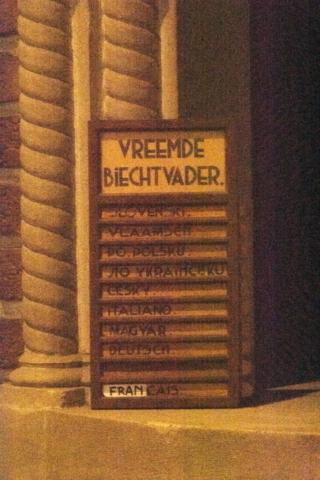 Een bewijs van de verscheidenheid aan talen in de toenmalige mijngemeenschap.