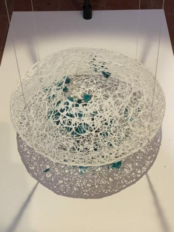 Zjeeke Polleunis: samenspel, kristalglas en gespoten porselein.