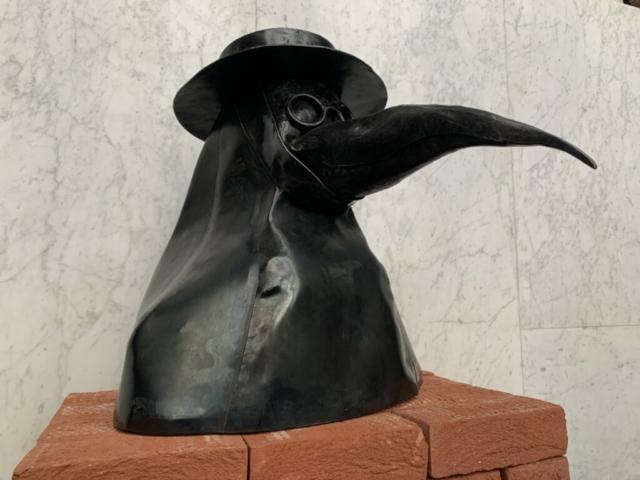 Raf Nulens: Maskoj, gesmede sculptuur