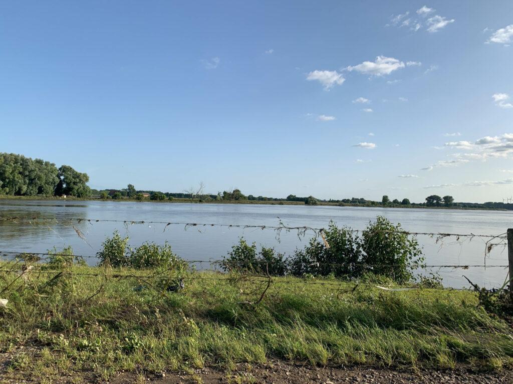 De Maas en zijn omgeving na de overstroming van 16/07/2021